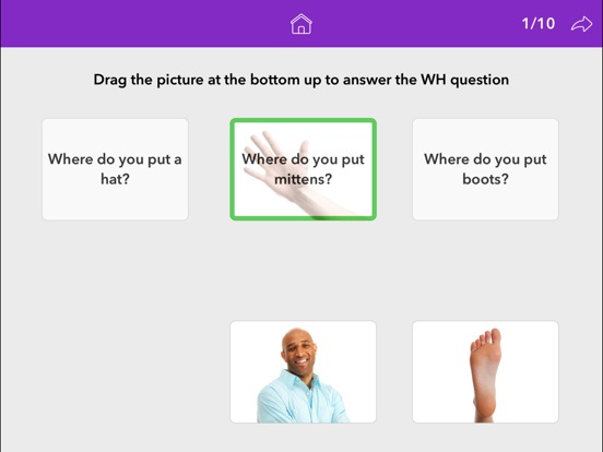 Screenshot #4 for Wh Questions by Teach Speech