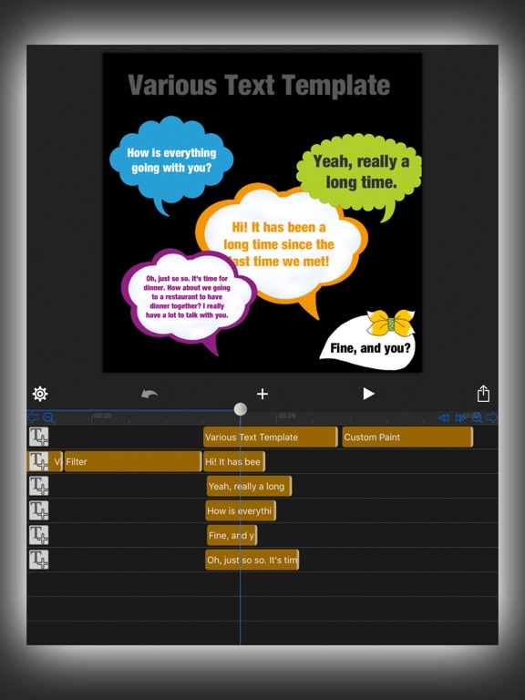 Screenshot #3 for MovieSpirit - Movie Maker Pro