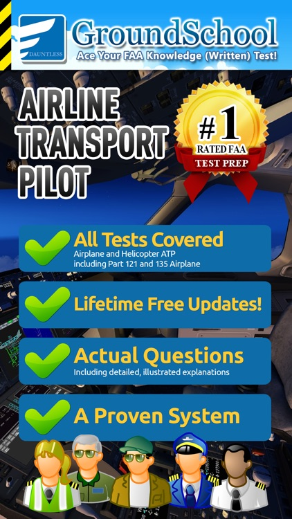 FAA ATP Written Test Prep by Dauntless Software