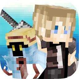 Fantasy Hero Blocks Running Pro