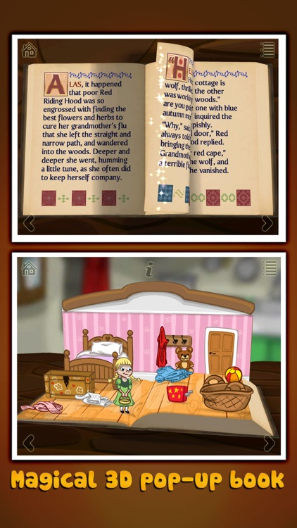Grimm's Red Riding Hood ~ 3D Pop-up Book