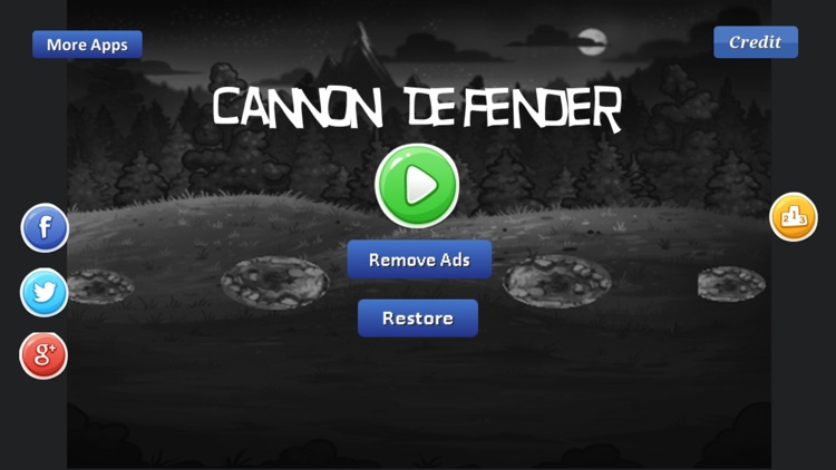 Cannon Defender Game