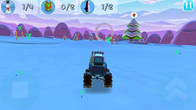Xmas Monster Mayhem For Kids screenshot-4