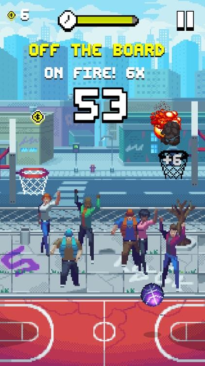 Bouncy Hoops screenshot-0
