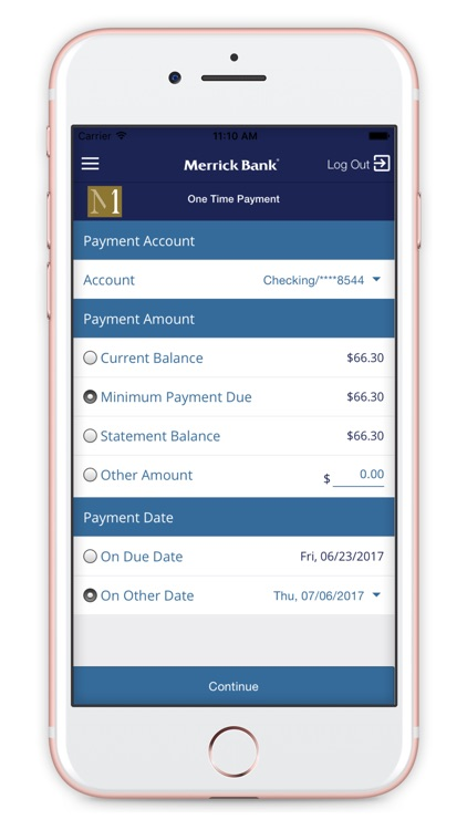 Merrick Bank Mobile screenshot-4