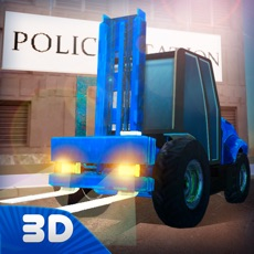 Activities of City Police Station Building Simulator 3D