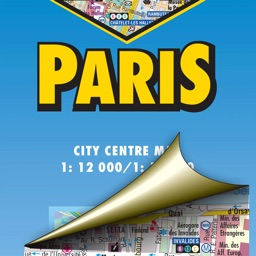 Paris. City map