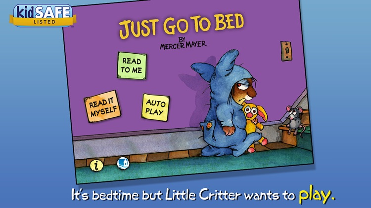 Just Go to Bed - Little Critter