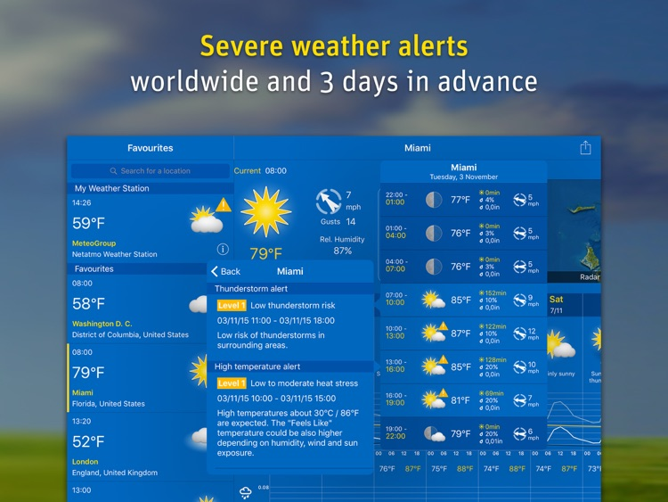 WeatherPro for iPad screenshot-4