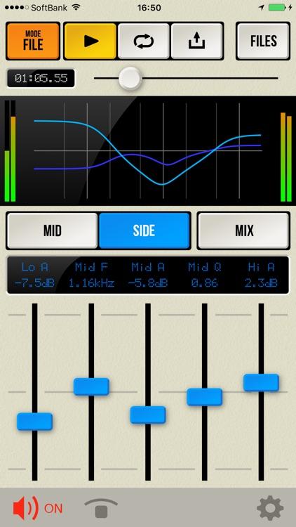 M/S Proc - Mid/Side Level & EQ