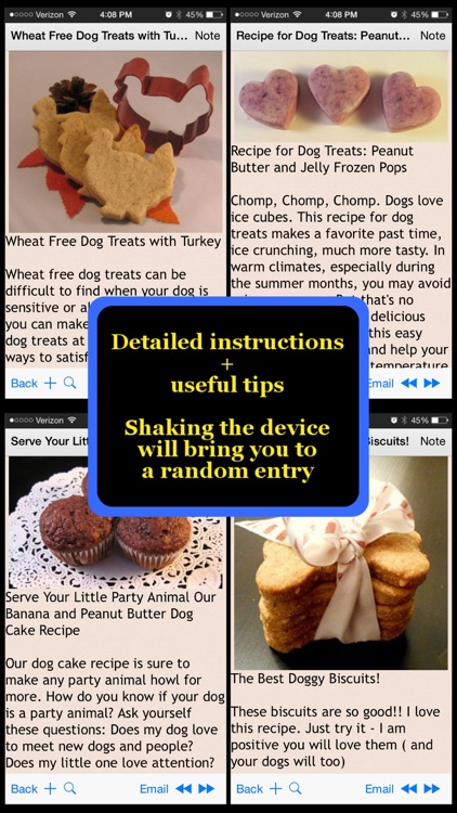 Homemade Pets Recipes screenshot-0