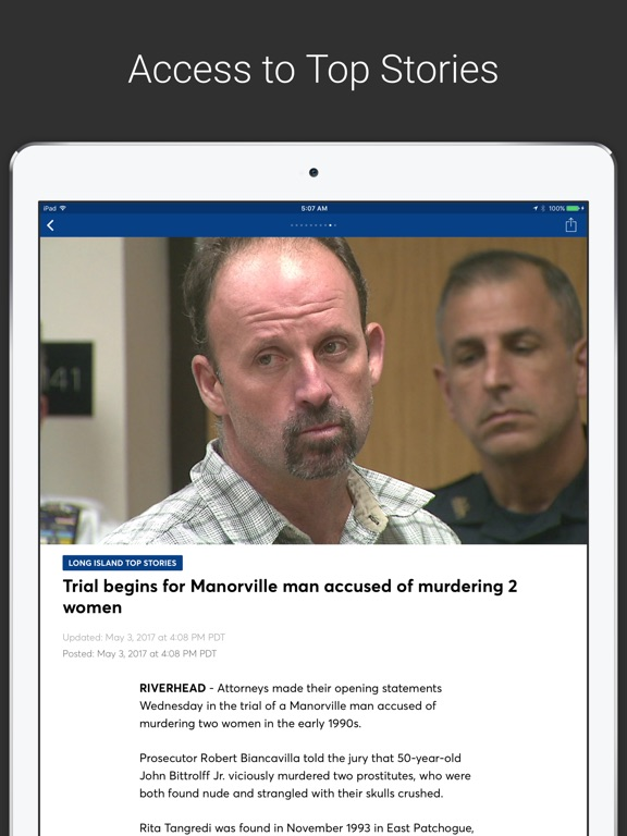 News 12 Mobile iPad