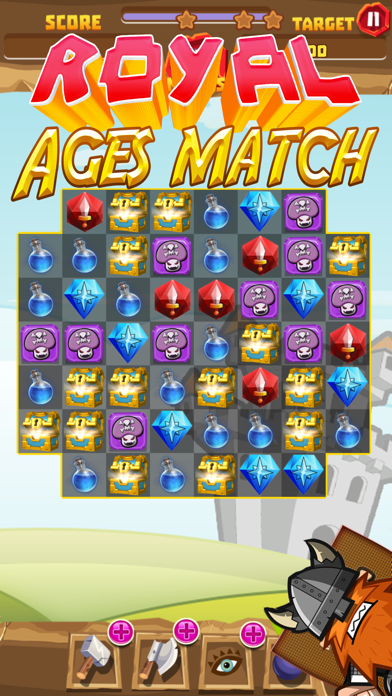 Royal ages of match screenshot four
