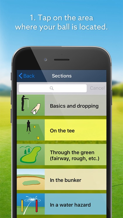 Expert Golf – iGolfrules screenshot-1