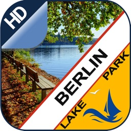 Berlin Lakes Offline charts for Lake & Park trails