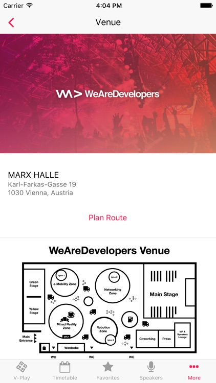 WeAreDevelopers 2017 - Conference App by V-Play screenshot-4