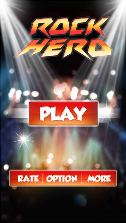 Rock Hero: A new rhythm game