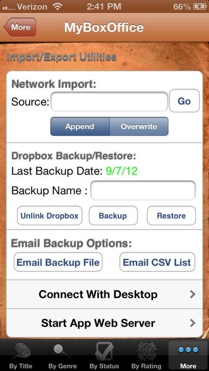 MyBoxOffice screenshot-3