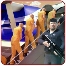 Activities of Jail Criminals Transport Plane - Flight Pilot Game