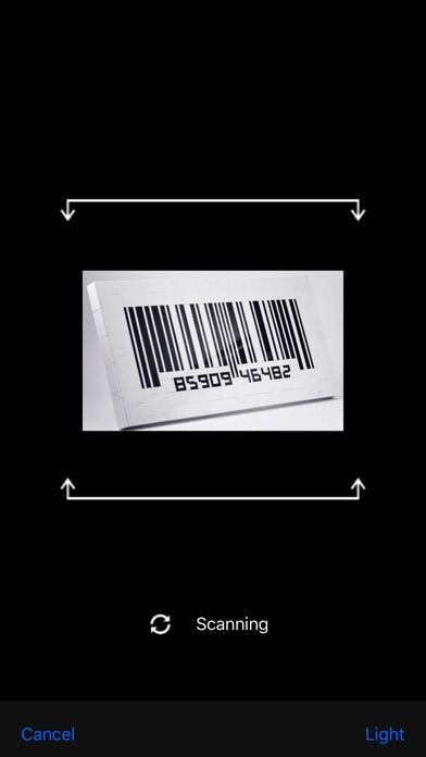 Awesome Scanner - Barcode Reader, QR Code Creator Screenshot on iOS