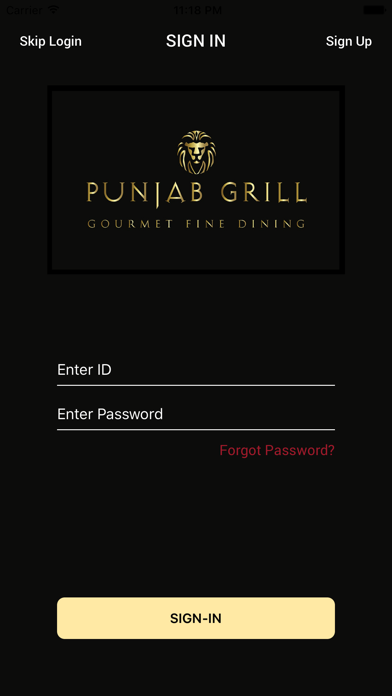 Punjab Grill screenshot one
