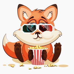 The Happiest Fox - Stickers for iMessage