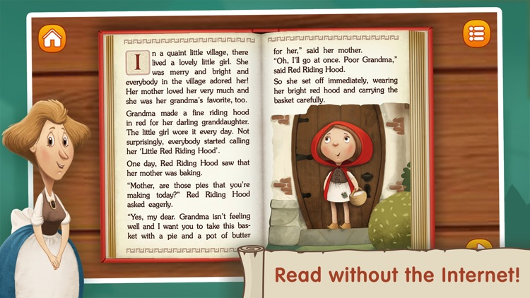The Little Red Riding Hood ~ Fairy Tale for Kids screenshot-4