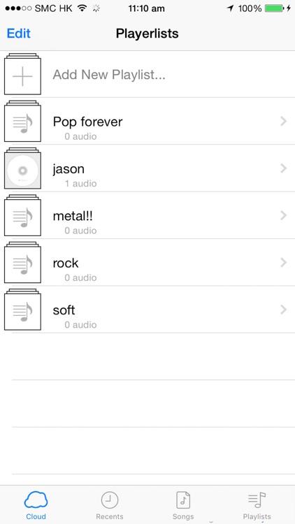 MusiCloud Pro - Music File Manager screenshot-4