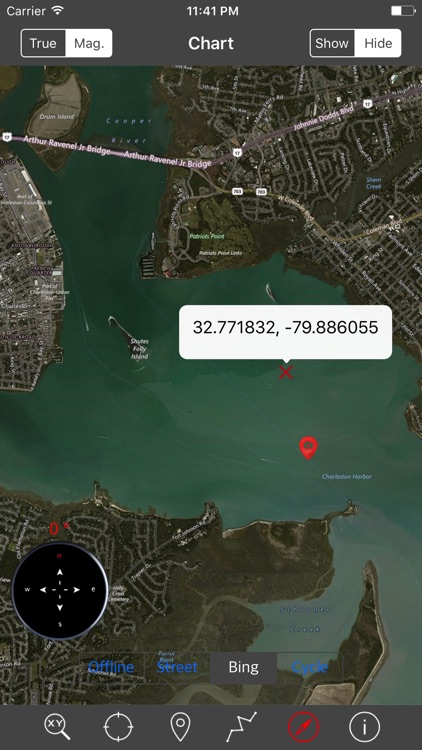 North Carolina & South Carolina – Raster Nautical screenshot-3