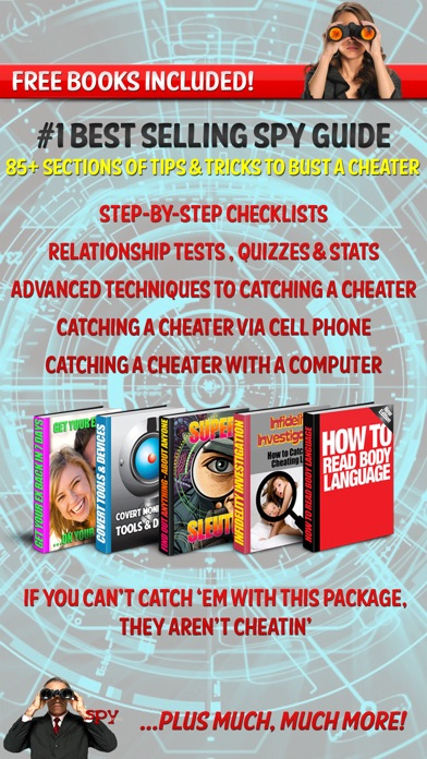 How To Catch Cheaters Liars Cheating Spouses review screenshots