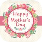 carte di auguri giorno della madre e adesivi icon