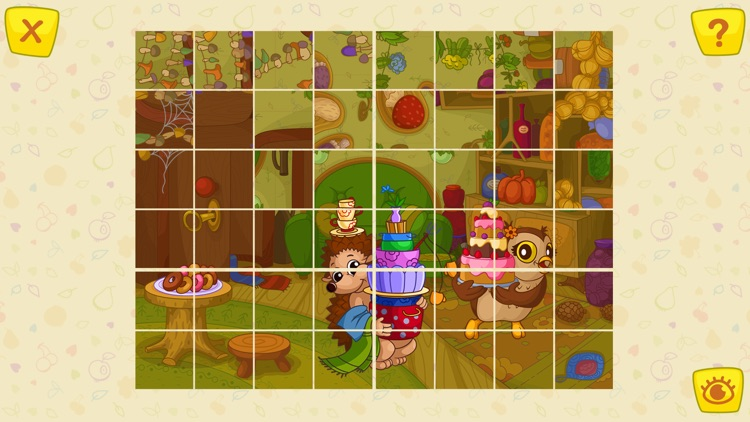 Animals Jigsaw Puzzle - games for kids screenshot-4