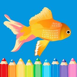 Food & Animal Coloring Pages - Easy Coloring Book