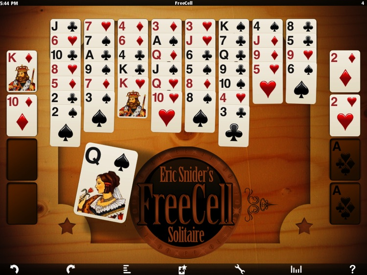 Eric's FreeCell Solitaire Pack HD