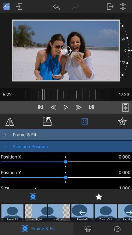 LumaClip - Frame, rotate, reverse, speed screenshot-4