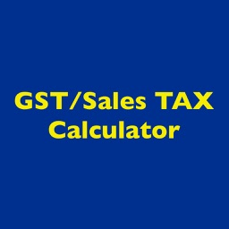 GST/Sales Tax Calculator