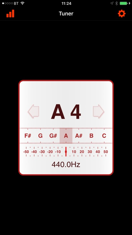 In-Tune Instrument Tuner screenshot-4