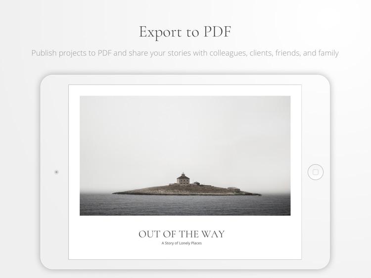 Portafolio - Design a Portfolio & Photo Albums screenshot-3