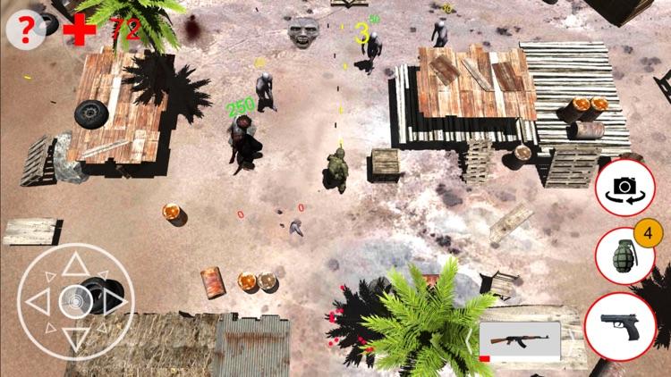 Shooting Zombies Game screenshot-4