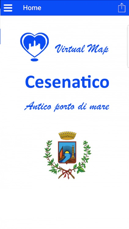 Cesenatico Virtual Map