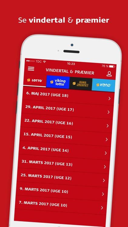 Lotto - Scanner og Vindertal screenshot-3