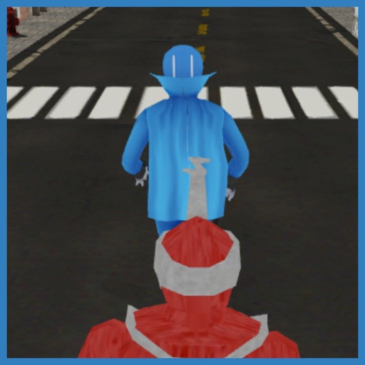 3D Mighty Rangers Runner