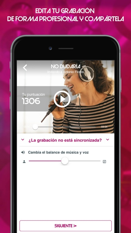 Tu cara me suena - Karaoke app screenshot-3