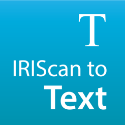 ‎IRIScan to Text