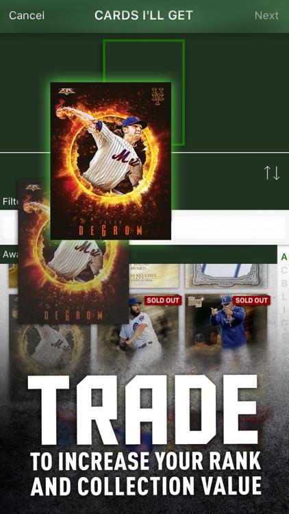 MLB BUNT: Baseball Card Trader screenshot-3