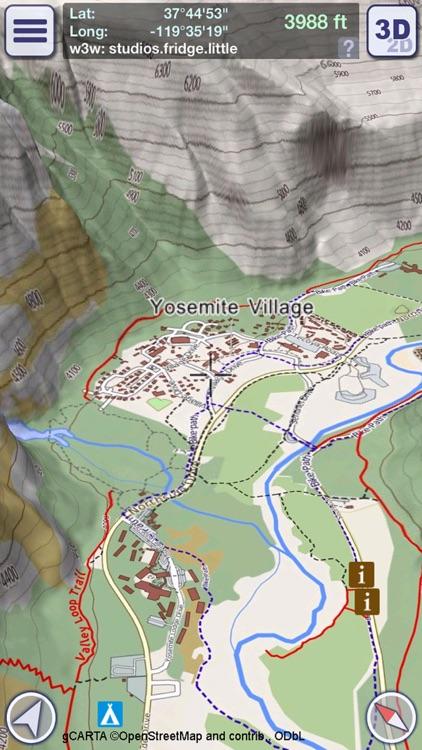 GeoFlyer US Canada 3D Maps LT