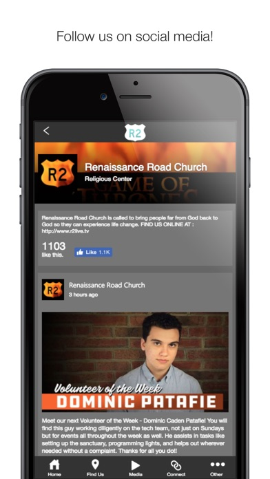 Image of Renaissance Road Church for iPhone