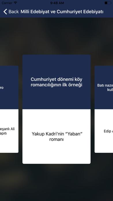 YKS/LYS Edebiyat Yazar-Eser screenshot two