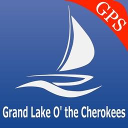 Grand lake o the Cherokees GPS nautical charts
