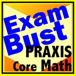 Praxis Core Math Prep Flashcards Exambusters on the App Store